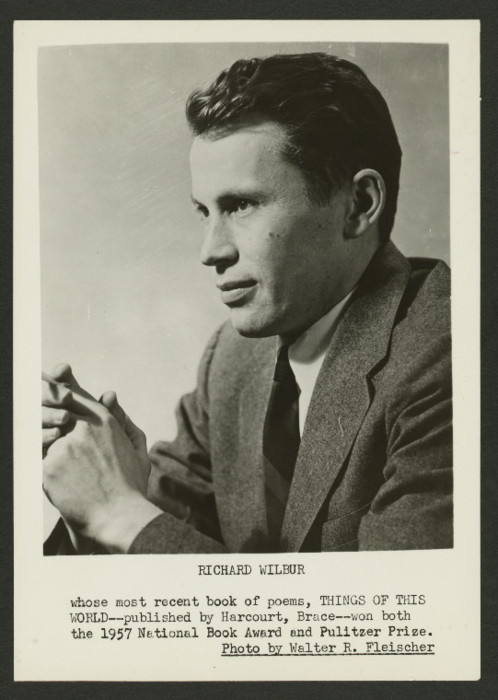 a biography of richard wilbur an american poet Richard wilbur was born on march 1, 1921 in new york city, new york, usa as richard purdy wilbur  american poet, appointed us poet laureate in 1987  he was awarded the american national medal of the arts in 1994 by the national endowment of the arts in washington dc.