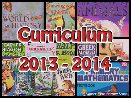 First Grade Curriculum 2013-2014