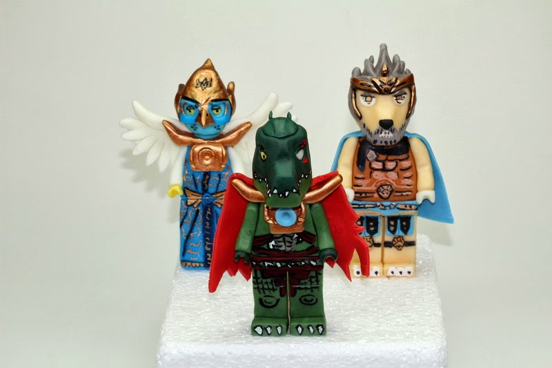 Lego Chima Cake Toppers
