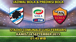 Sampdoria vs Roma