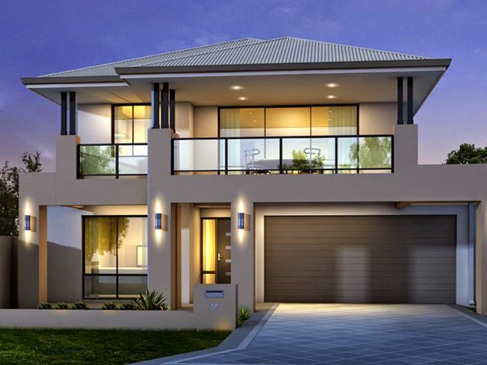 simpel rumah minimalis 2 lantai