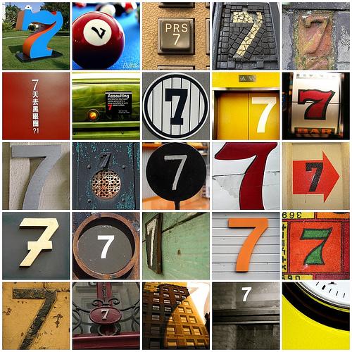 El porqué del número 7...