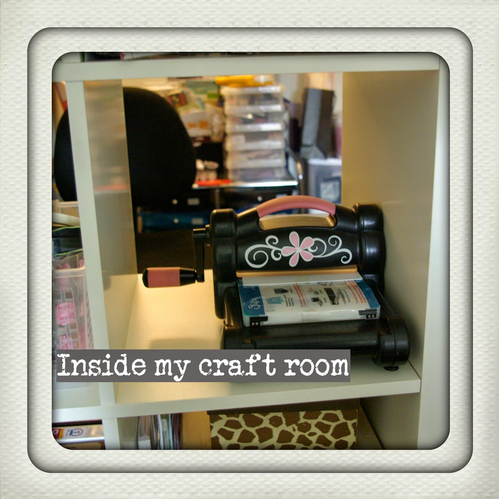 Inside my craft room