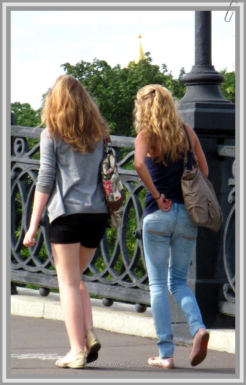 Moscow Girls Street Fashion