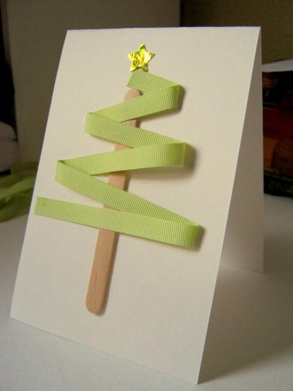 Petitgraphie diy tarjetas de navidad hechas en casa - Manualidades tarjetas de navidad ...