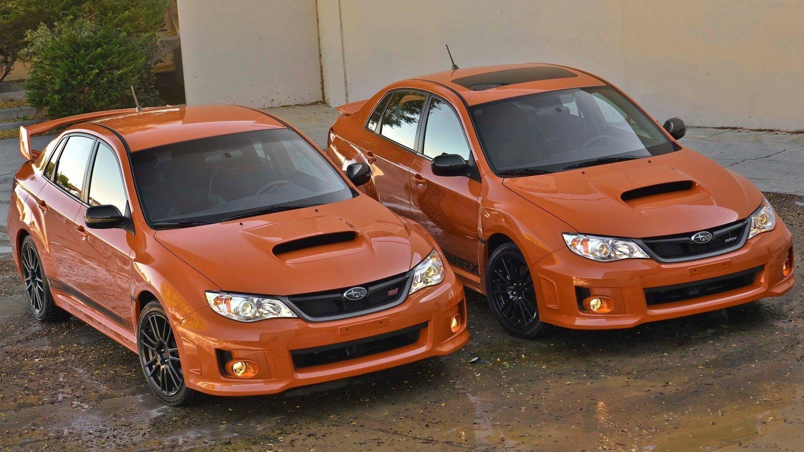 Subaru impreza wrx and wrx sti special edition