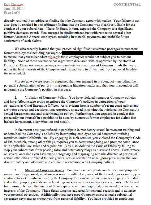 Board Member Termination Letter. sample letter board of directors ...