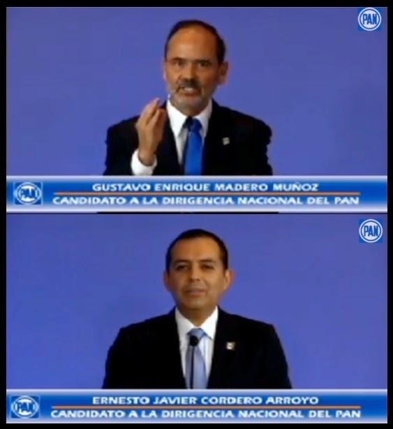 La imagen del PAN más dañada tras debate Madero vs Cordero