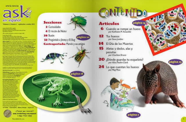 Spanish magazine for kids