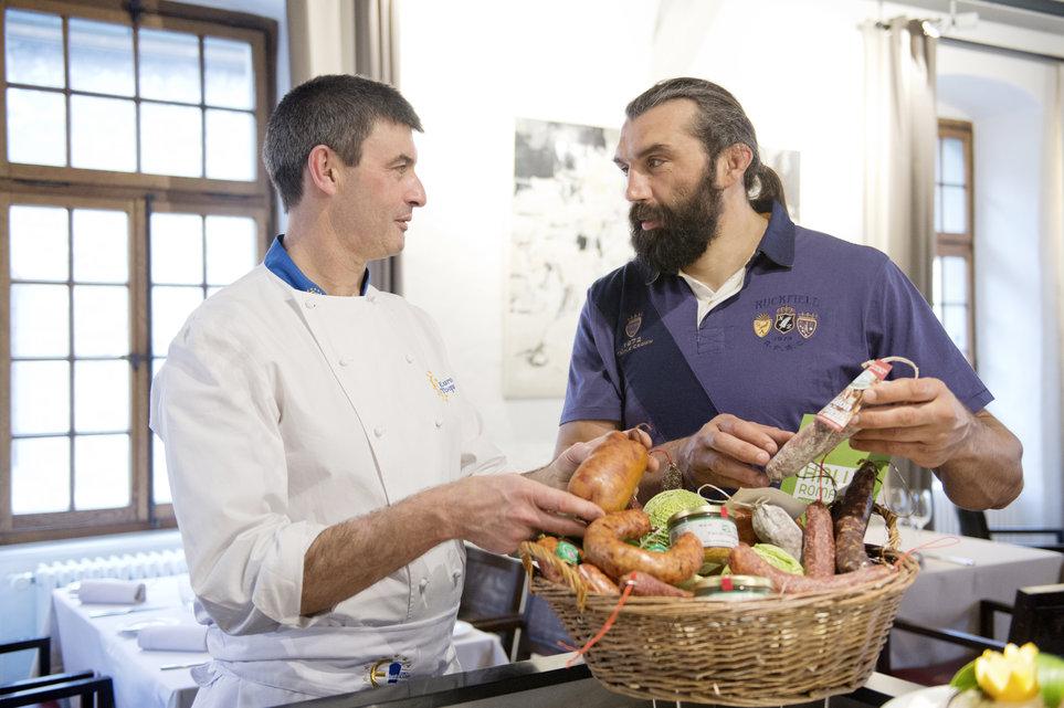 Famille egger chabal roule pour la suisse - Chef de cuisine en suisse ...