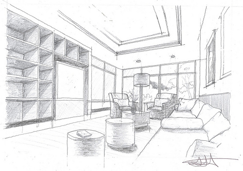 How to draw a good looking room beautiful drawing for Draw my room