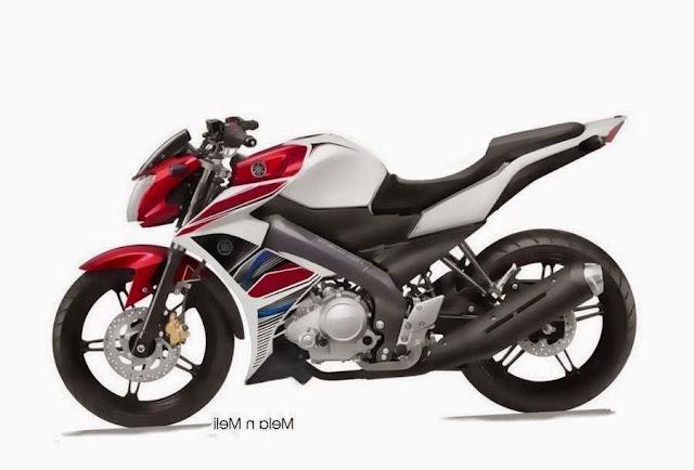 Modifikasi Yamaha New Vixion warna putih