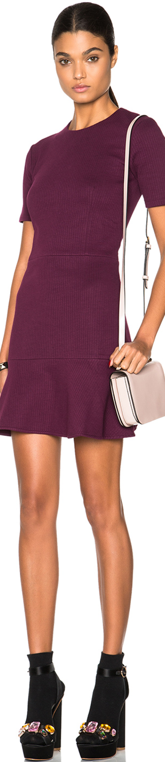 Carven Fit&Flare Mini Dress