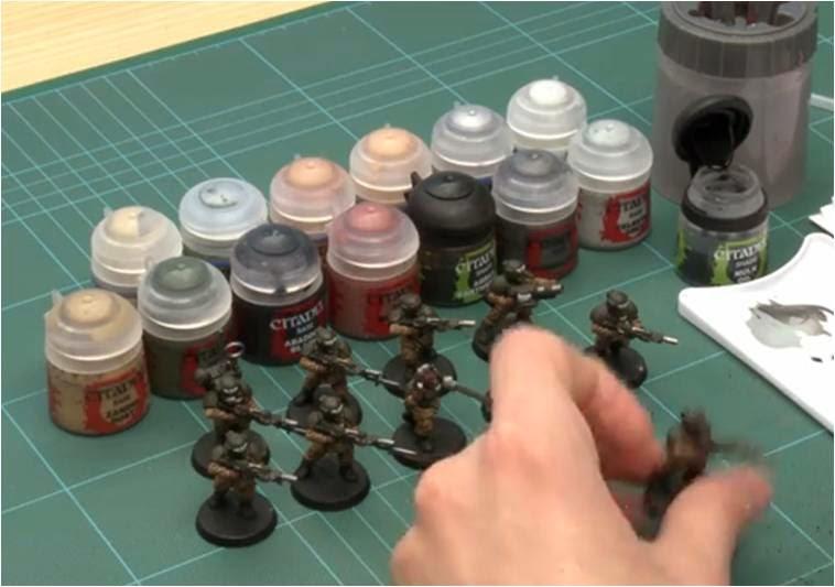Cómo pintar Tropas de Choque de Cadia