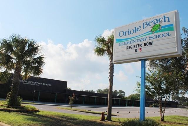 Oriole Beach Elementary School Gulf Breeze Fl