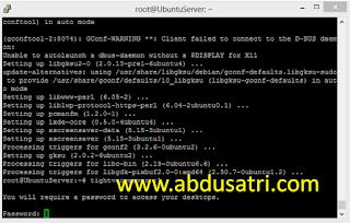 cara install RDP di VPS Ubuntu