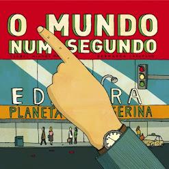 """LIVRO DO MÊS -""""O Mundo num segundo"""" de Isabel Minhós Martins"""