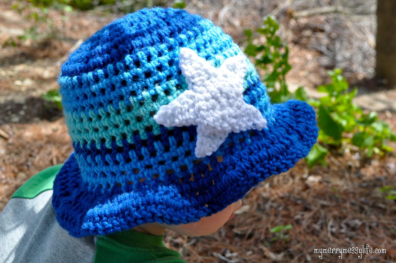 Sunday Fan Tribute #2 ? Crochet Toddler Boy Sun Hat