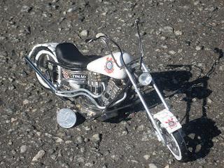 Presente Legal- Miniatura de Moto chopper Corinthians