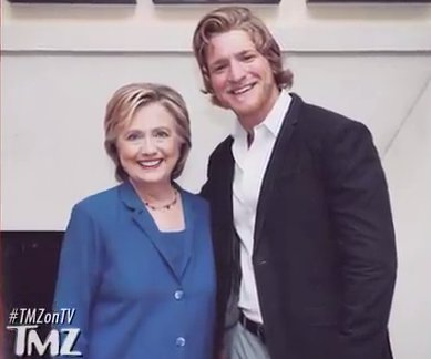 Hillary Clinton loves Gavin Waters!