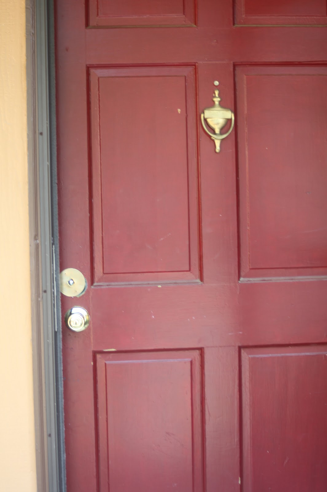 love + d.i.y. - a home improvement diary.: Our BRIGHT Front Door