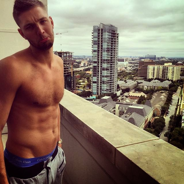 Chandler Parsons shirtless