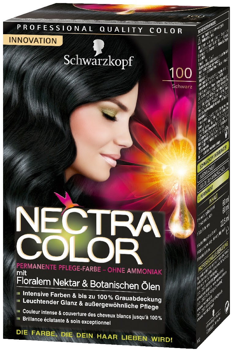 schwarzkopf nectra color range is available to buy now in department stores throughout switzerland - Nectra Color Schwarzkopf