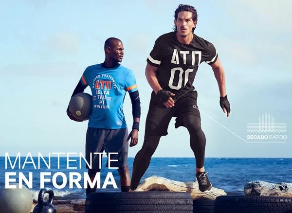 Moda deportiva hombre de H&M lookbook Combina deporte y moda