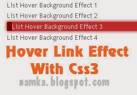Hiệu ứng Link nudging từ CSS3 cho blogspot