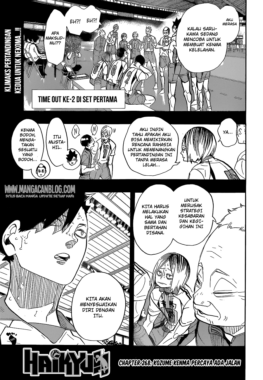 Haikyuu!! Chapter 268-0