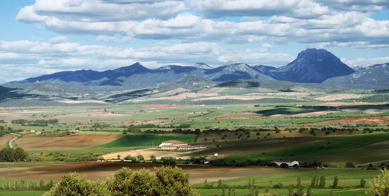 Serranía de Grazalema desde 'Las Anderas'