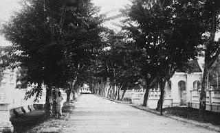 Jalan di sekitar Istana Sultan Langkat, Tanjung Pura Tahun 1734