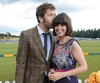 Chris O'Dowd and his wife Dawn Porter