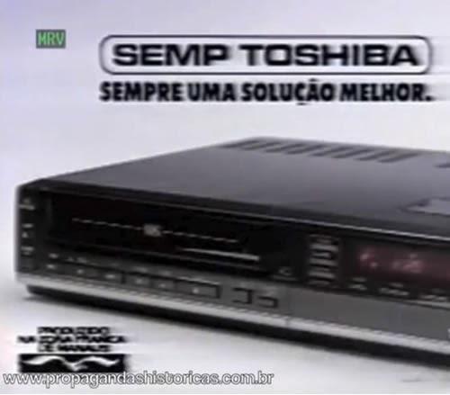 Propaganda do vídeocassete em 1990. Semp Toshiba apresentava as novidades tecnológicas do momento.