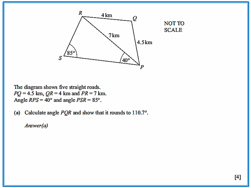 trigonometry bearing problems with solution pdf