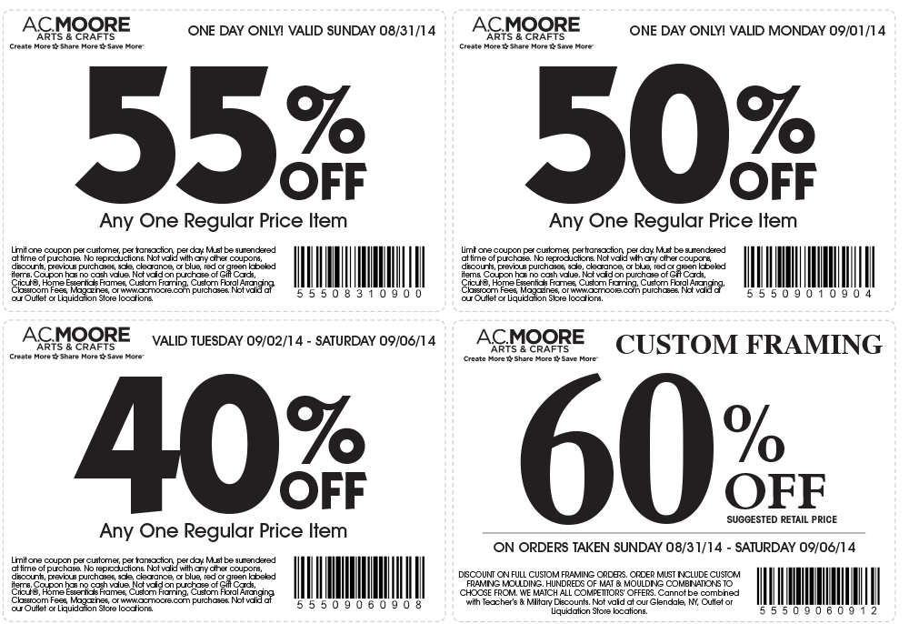 Sale coupons online