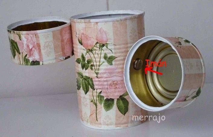 http://merrajo.blogspot.com.es/2015/03/latas-recicladas.html