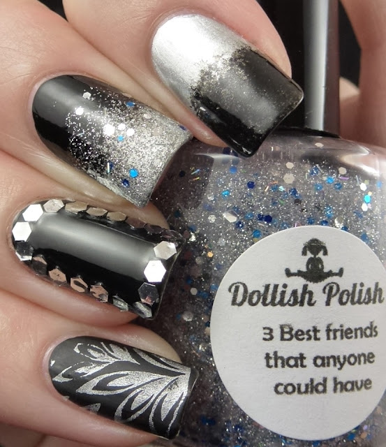 Camelot, Excalibur, a-england, 3 Best Friends That Anyone Could Have, Dollish Polish, BM210, Olympic nail art