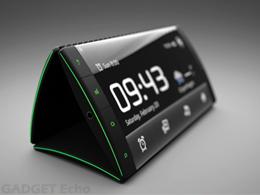 Concept 3 ecrans tactile flipphone