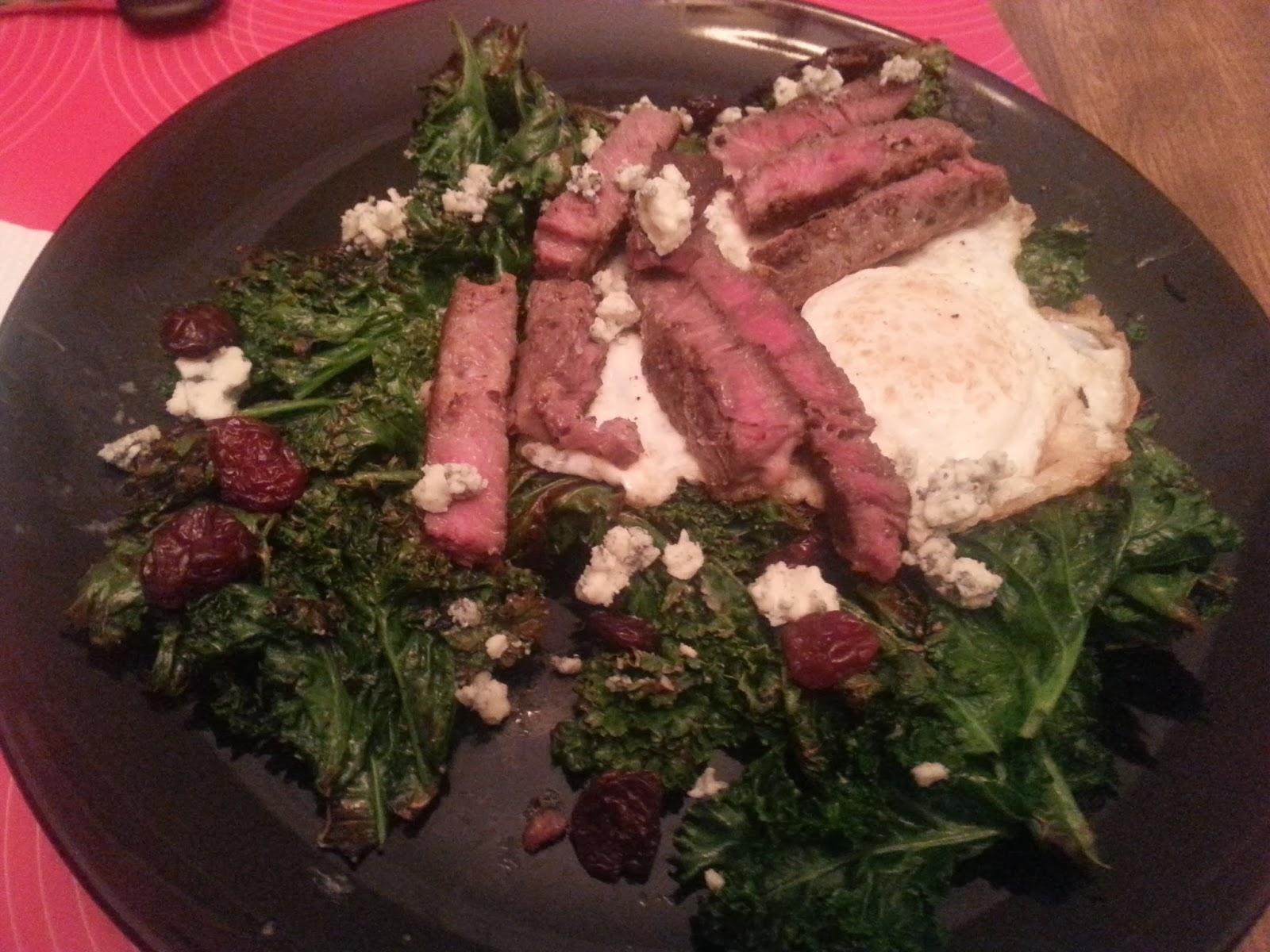 WIAW_steakkalesalad