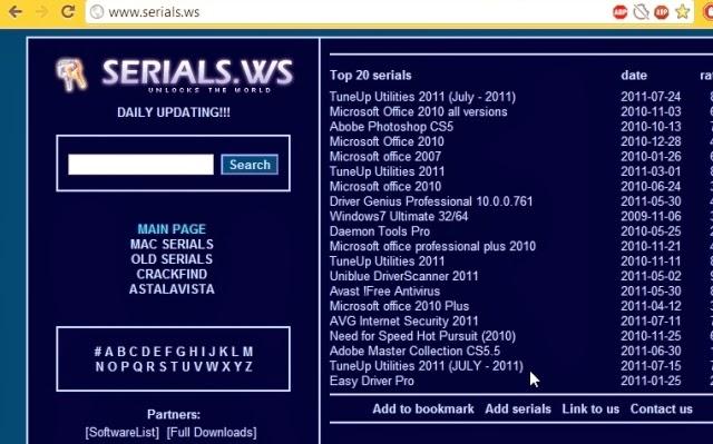 Tempat Mencari Serial Number, Product Key, Crack Software/Program