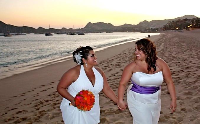 11.07.09 | Cabo San Lucas | 2 Brides