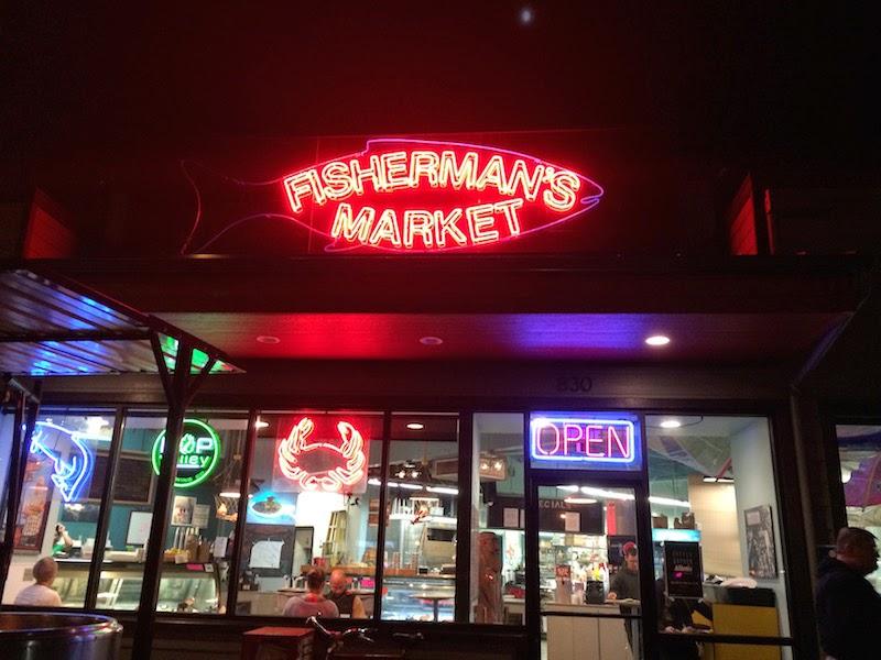Fisherman's Market in Eugene, Oregon