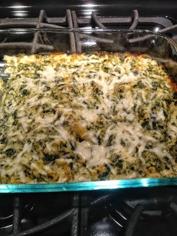 Spinach and Artichoke Chicken
