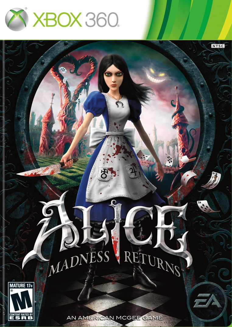 Alice, Alice The Madness Returns, Platforming, Twisted, Gaming, Games, Videogames, video games, Disney, Lewis Carroll, Xbox, Playstation, PC, Review