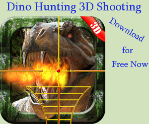 Dino Hunter Sniper Shooting 3D