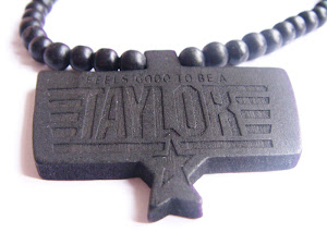ON SALE $19.99 Taylor Gang x Lifestyle Wood Necklace