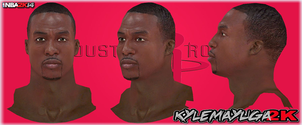 NBA 2K14 Dwight Howard Next-Gen Face Mod