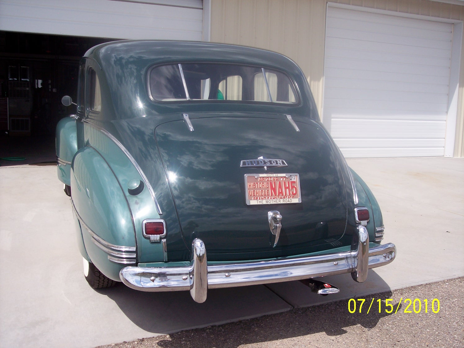 Ron\'s Hot Rods: All Original 1947 Hudson Super Six For Sale
