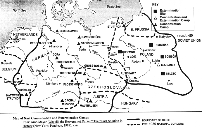 concentration camps to visit in europe